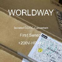 +200V-HP-HV - First Sensor - 隔離式DC / DC轉換器
