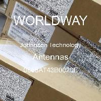 0868AT43B0020E - Johanson Technology - 天線