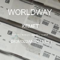 080MD22ABMK1STD - Kemet Electronics - 铝电解电容器 - 含铅