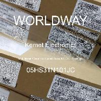 05HS31N101JC - Kemet Electronics - 多层陶瓷电容器MLCC  - 含铅