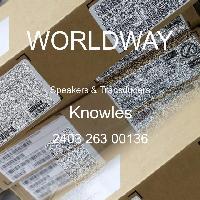 2403 263 00136 - Knowles - 揚聲器和傳感器