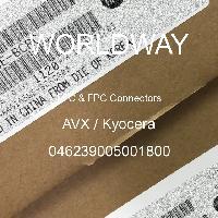 046239005001800 - KYOCERA Corporation - FFC和FPC连接器