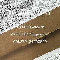008370121000800 - KYOCERA Corporation - FFC和FPC连接器