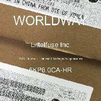 5KP6.0CA-HR - Littelfuse Inc - TVS二极管 - 瞬态电压抑制器