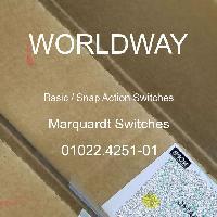 01022.4251-01 - Marquardt Switches - 基本/快动开关