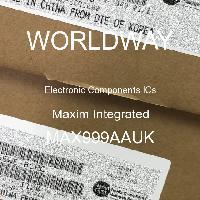 MAX999AAUK - Maxim Integrated - 电子元件IC