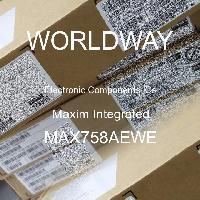 MAX758AEWE - Maxim Integrated