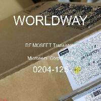 0204-125 - Microsemi Corporation - RF MOSFET晶體管