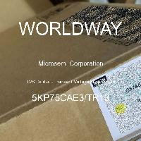 5KP75CAE3/TR13 - Microsemi Corporation - TVS二極管 - 瞬態電壓抑制器