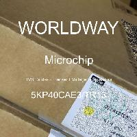 5KP40CAE3/TR13 - Microsemi Corporation - TVS二極管 - 瞬態電壓抑制器