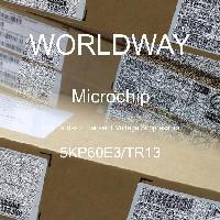 5KP60E3/TR13 - Microsemi - TVS二極管 - 瞬態電壓抑制器