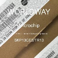 5KP13CE3/TR13 - Microsemi - TVS二極管 - 瞬態電壓抑制器