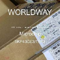 5KP43CE3/TR13 - Microsemi - TVS二极管 - 瞬态电压抑制器