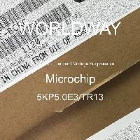 5KP5.0E3/TR13 - Microsemi - TVS二极管 - 瞬态电压抑制器