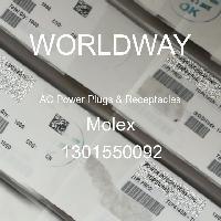 1301550092 - Molex - 交流电源插头和插座