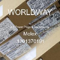 1301370191 - Molex - 交流电源插头和插座