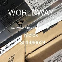 1301460024 - Molex - 交流电源插头和插座