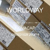 0805D102F250PH - NOVACAP - 多层陶瓷电容器MLCC-SMD/SMT