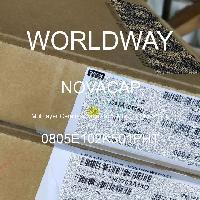0805E102K501PHT - NOVACAP - 多层陶瓷电容器MLCC-SMD/SMT