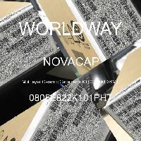 0805E822K101PHT - NOVACAP - 多层陶瓷电容器MLCC-SMD/SMT
