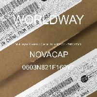 0603N821F160YT - NOVACAP - 多层陶瓷电容器MLCC-SMD/SMT