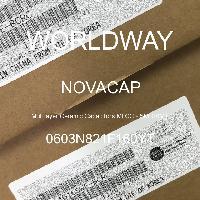 0603N821F160YT - NOVACAP - 多層陶瓷電容器MLCC  -  SMD / SMT