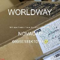 0805E181K101PHT - NOVACAP - 多層陶瓷電容器MLCC  -  SMD / SMT