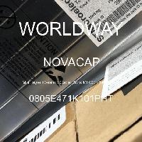 0805E471K101PHT - NOVACAP - 多層陶瓷電容器MLCC  -  SMD / SMT