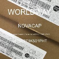 0805E271K501PHT - NOVACAP - 多層陶瓷電容器MLCC  -  SMD / SMT