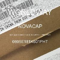 0805E181K501PHT - NOVACAP - 多層陶瓷電容器MLCC  -  SMD / SMT
