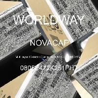0805E472K251PHT - NOVACAP - 多層陶瓷電容器MLCC  -  SMD / SMT