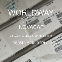 0805E151K102PHT - NOVACAP - 多层陶瓷电容器MLCC-SMD/SMT