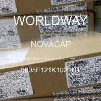 0805E121K102PHT - NOVACAP - 多層陶瓷電容器MLCC  -  SMD / SMT