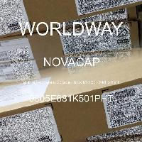 0805E681K501PHT - NOVACAP - 多層陶瓷電容器MLCC  -  SMD / SMT