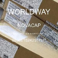 0805E152K251PHT - NOVACAP - 多层陶瓷电容器MLCC-SMD/SMT
