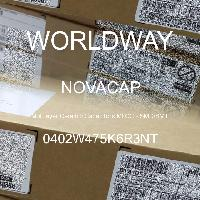 0402W475K6R3NT - NOVACAP - 多層陶瓷電容器MLCC  -  SMD / SMT