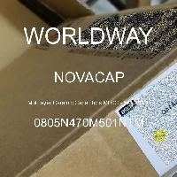 0805N470M501NTM - NOVACAP - 多层陶瓷电容器MLCC - SMD/SMT