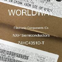 74HC4351D-T - NXP Semiconductors
