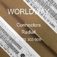 R 125 303 000 - Radiall - 连接器