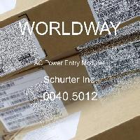 0040.5012 - Schurter - 交流电源输入模块