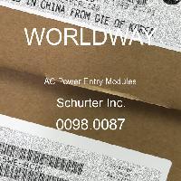 0098.0087 - Schurter - 交流电源输入模块