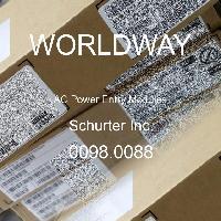 0098.0088 - Schurter - 交流電源輸入模塊