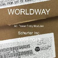 0098.0043 - Schurter - 交流电源输入模块