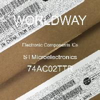 74AC02TTR - STMicroelectronics