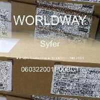 060322001P00BCT - Syfer - 多层陶瓷电容器MLCC-SMD/SMT