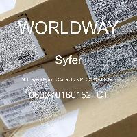 0603Y0160152FCT - Syfer - 多层陶瓷电容器MLCC-SMD/SMT