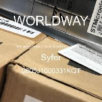 0805J1000331KQT - Syfer - 多层陶瓷电容器MLCC-SMD/SMT