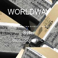 0805J2500151FCT - Syfer - 多層陶瓷電容器MLCC  -  SMD / SMT