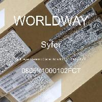0805Y1000102FCT - Syfer - 多層陶瓷電容器MLCC  -  SMD / SMT