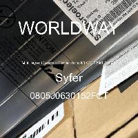 0805J0630152FCT - Syfer - 多层陶瓷电容器MLCC-SMD/SMT